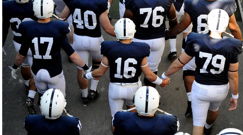 faec7736a Penn State football removing names from jerseys