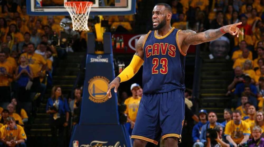 official photos ef0b9 71da8 LeBron James game-worn jersey sells for $46,000 | SI.com
