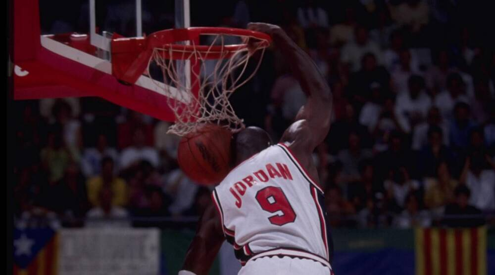 328e888615eee2 Michael Jordan  2-time gold medalist inducted in FIBA Hall of Fame ...