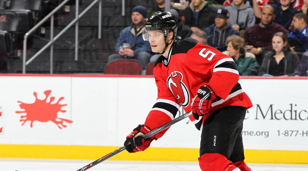 best sneakers 62c64 439e5 New Jersey Devils re-sign Adam Larsson to six-year deal | SI.com