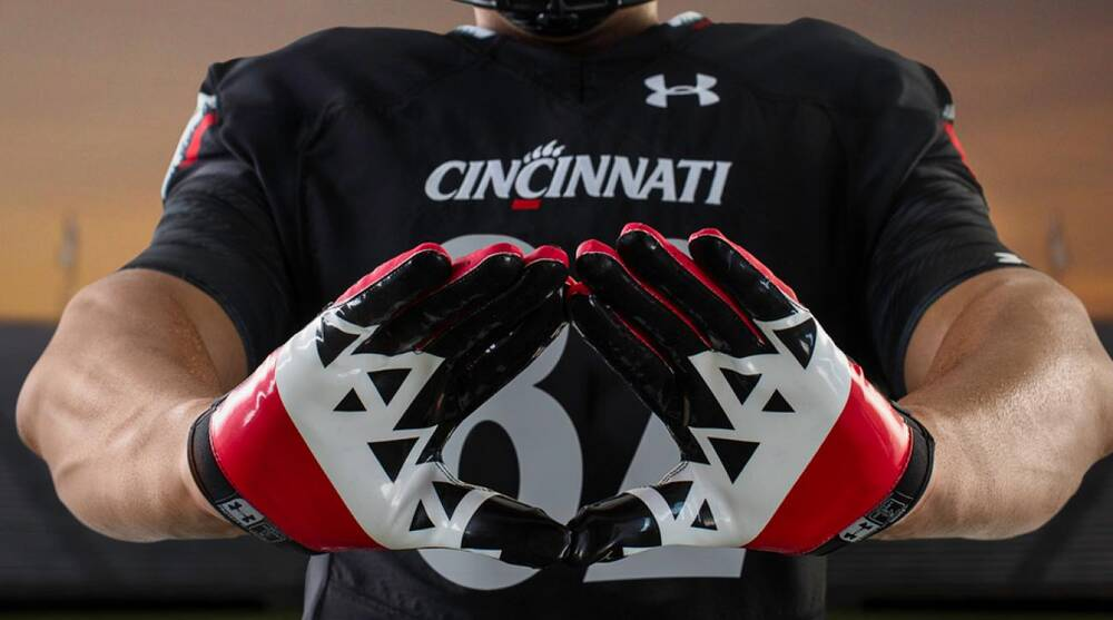 6dd0a33e0 Cincinnati football unveils new Under Armour uniforms
