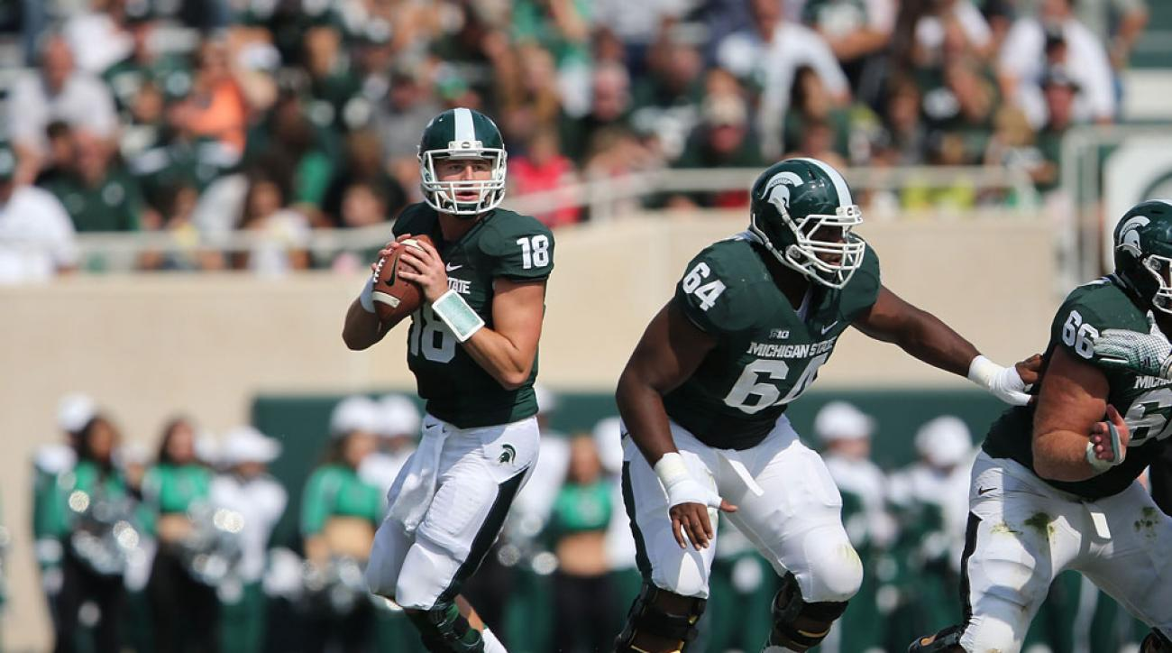 2015 Michigan State Football Schedule Opponents Times Tv Si Com