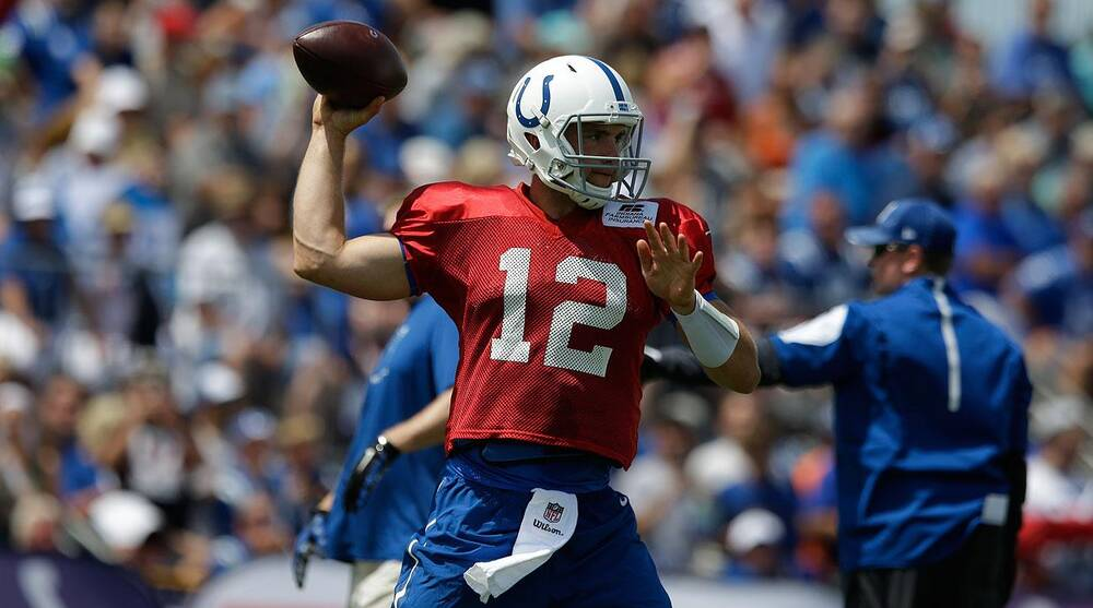 Andrew Luck Indianapolis Colts 99acc5f22