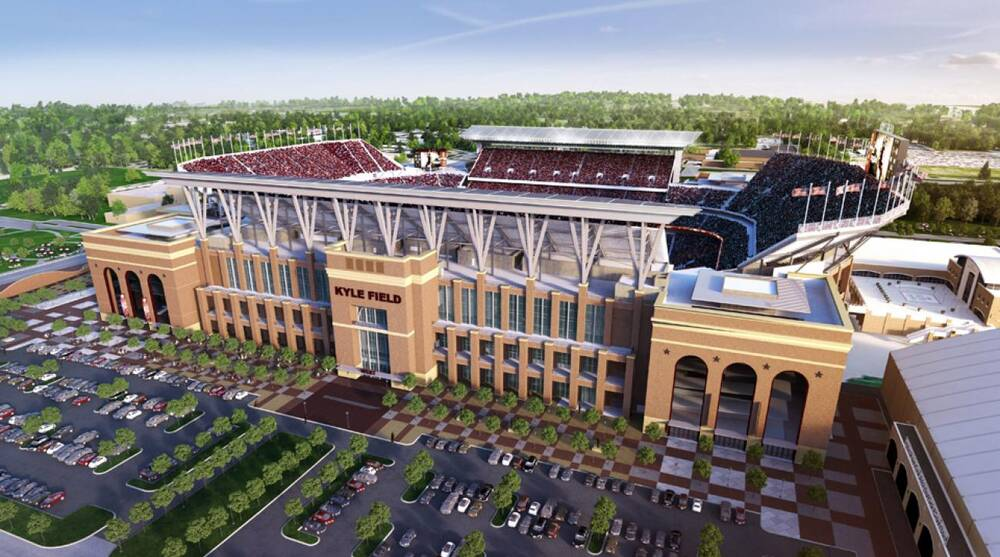 Texas Ams Redone Kyle Field Now Largest In Sec Sicom