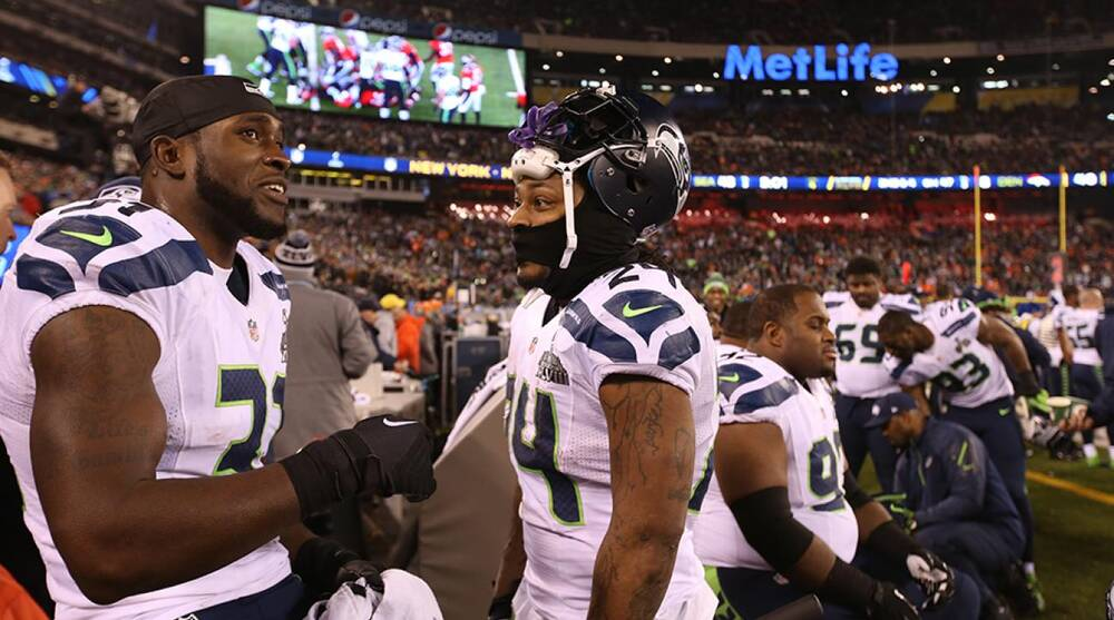 Kam Chancellor holdout  Marshawn Lynch supports Seahawks teammate ... d79ae7167
