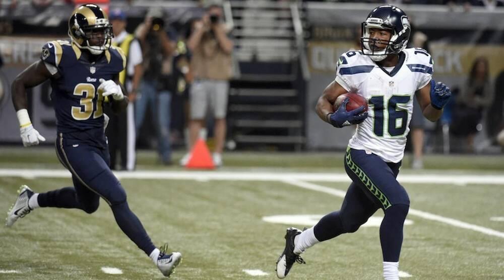 Seattle Seahawks St Louis Rams Score Punt Return Tds Si Com