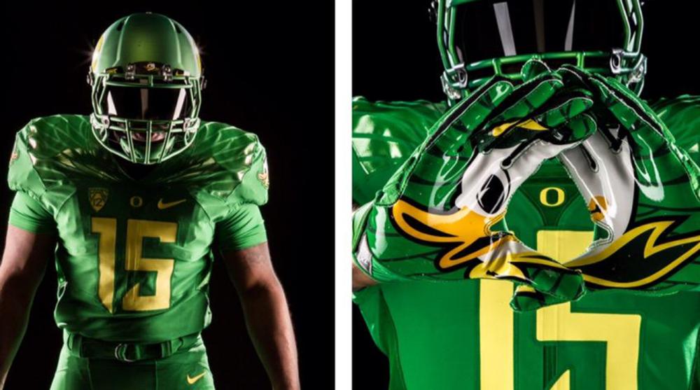 release date: 163d0 79fe1 Oregon football unifiorms vs Utah: 'apple green' helmets ...