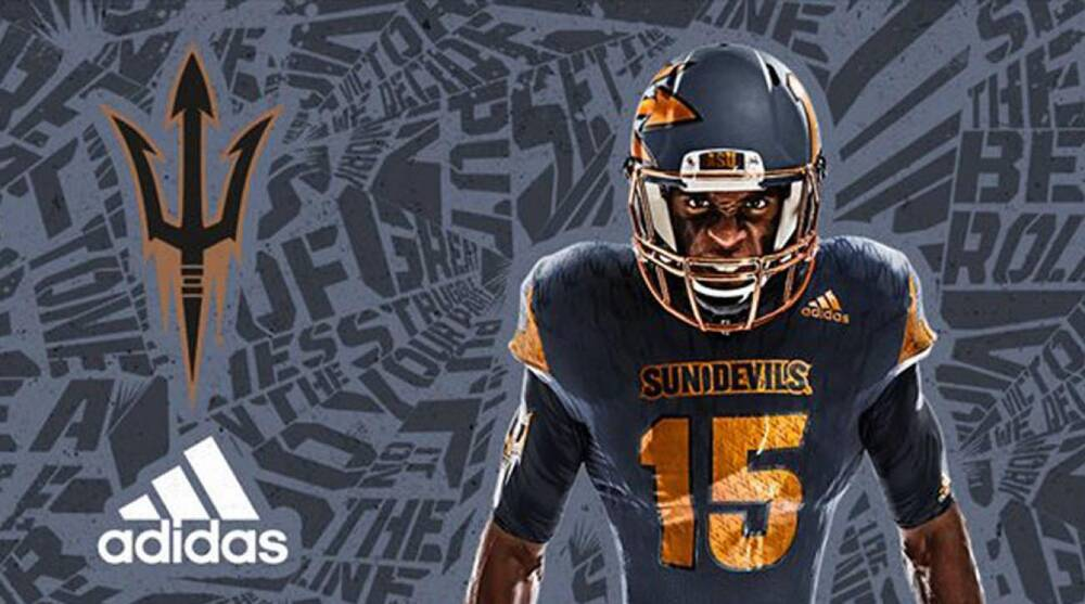 arizona state new uniforms adidas. Arizona State football Twitter 658da51be