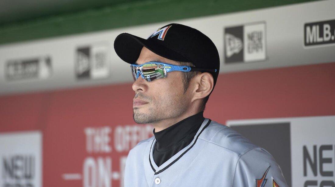 Miami Marlins: Ichiro Suzuki pitches eighth inning | SI.com