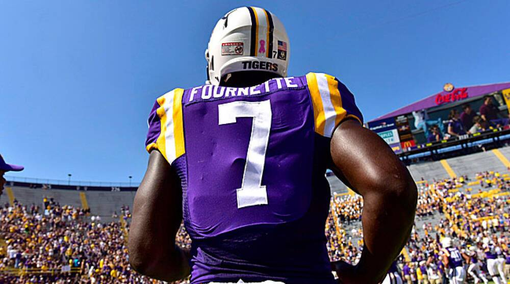 premium selection 837c7 e71c0 Leonard Fournette, LSU, NFL draft age minimum, Maurice ...