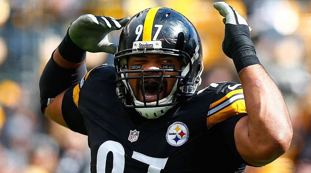 Cameron Heyward's personalized eyeblack was in violation of NFL rules.