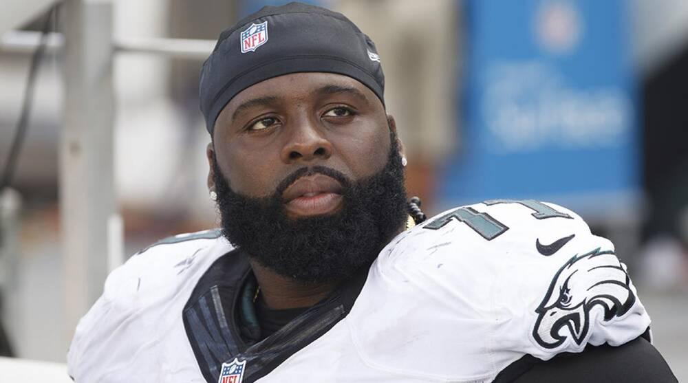 350e98555b8 Jason Peters injury: Philadelphia Eagles left tackle carted off   SI.com