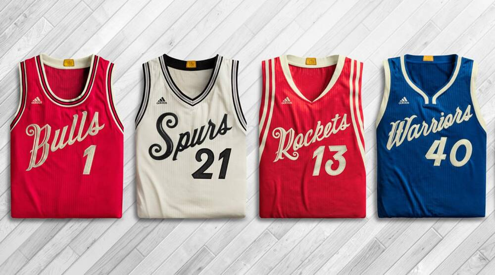 0ad1f8fcbb1 NBA Christmas Day jerseys featured in new commerical