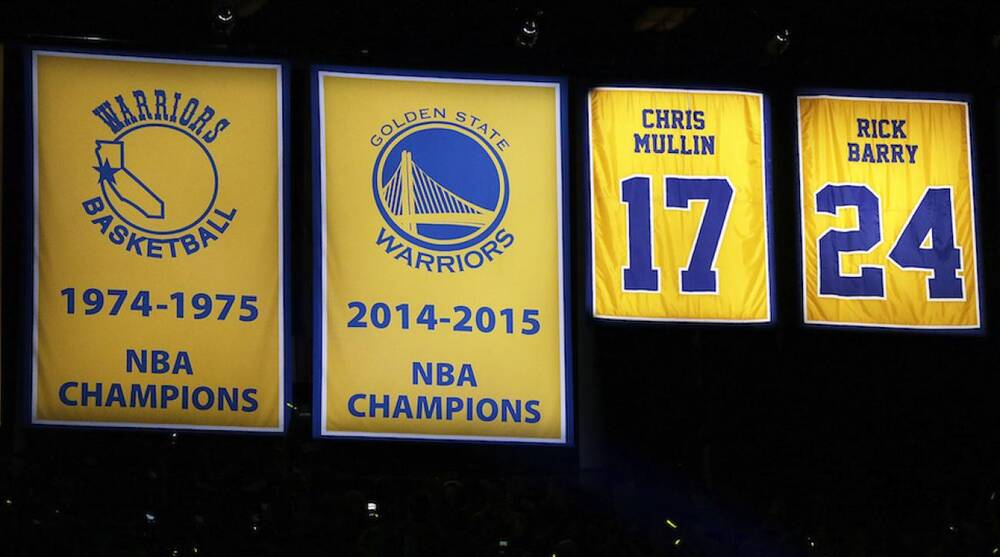online store 2ca50 6e02c Golden State Warriors: Alternate court for Hardwood Classic ...