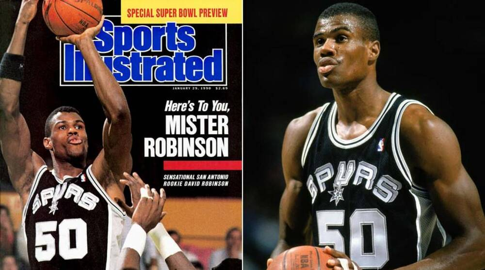 Remembering David Robinson s rookie season on 26-year anniversary ... ddb782533