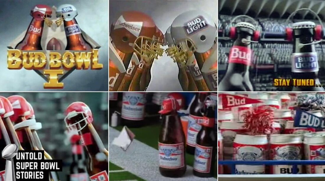 Bud bowl behind scenes of all time super bowl commercial si mozeypictures Gallery