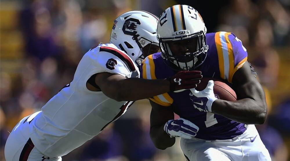 huge selection of 2e6bb 0c7c6 LSU's Leonard Fournette jersey auction raises $101,000 | SI.com