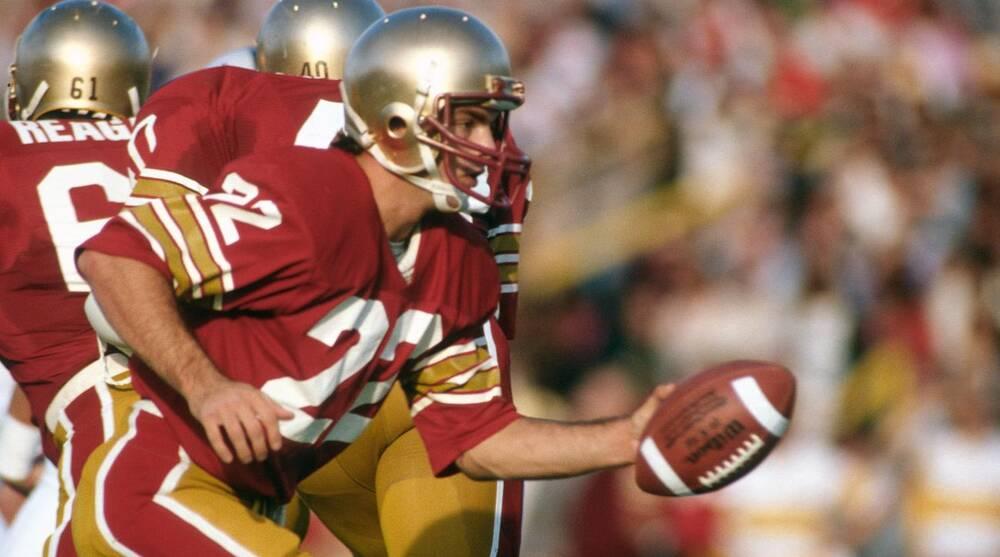 timeless design e5a9f 8e49d Boston College football: Doug Flutie models throwback ...