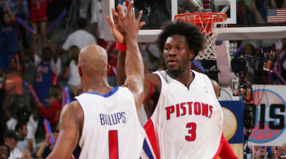 brand new 0f39f 06043 Detroit Pistons to retire Ben Wallace, Chauncey Billups ...