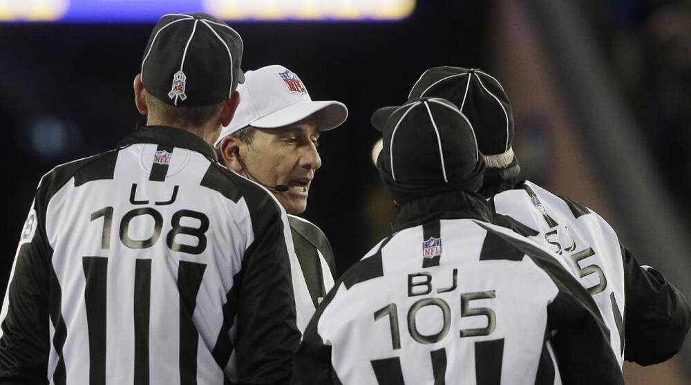 Patriots Vs Bills Referee May Have Confused Nfl College Rules Sicom