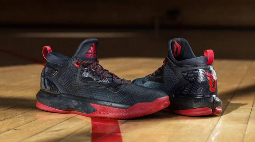 the best attitude a235c 2c13b Damian Lillard. Courtesy of Adidas