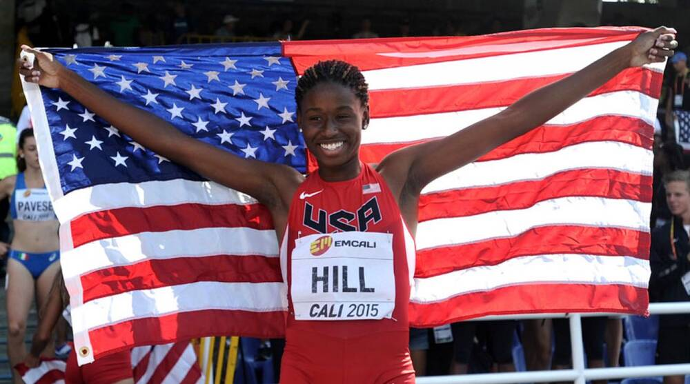 Candace Hill turns professional  High schooler signs with Asics  c73792a5cb