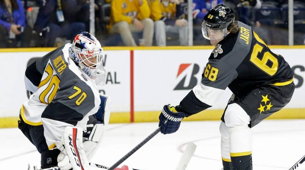 ca529ea15 NHL All-Star Game  Atlantic divison beats Metropolitan in Game 1 ...