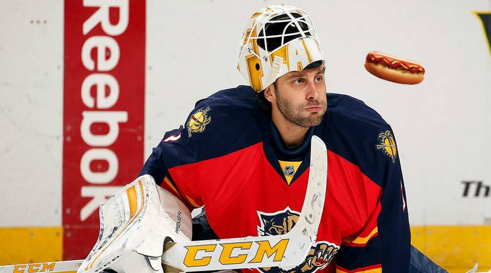 Panthers Roberto Luongo Ate Three Hot Dogs Between Periods Si Com