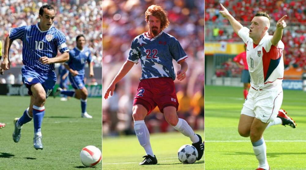 895561faf7b US Soccer s uniforms through the years