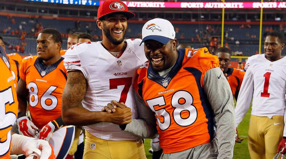 Colin Kaepernick and Von Miller 25bf08344