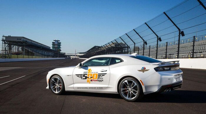 The Drive Chevy Camaro SS Is The Indianapolis Pace Car - Aston martin indianapolis