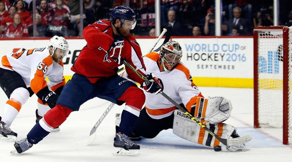 Capitals-Flyers  Philadelphia forces a Game 6 behind Neuvirth  284e6195546