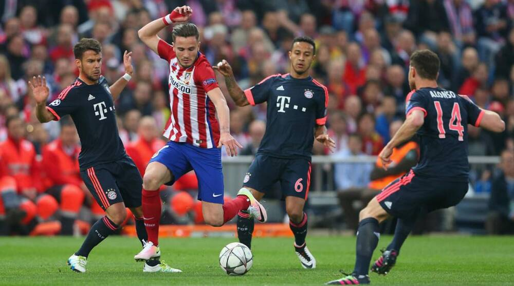 Image result for saul vs bayern