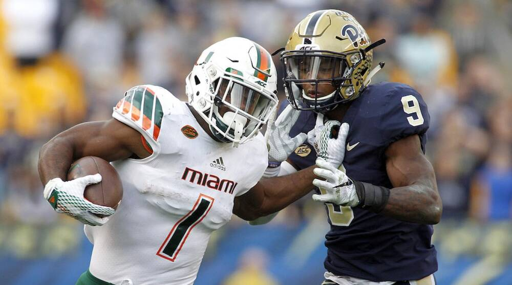 Miami Hurricanes Mark Walton Reinstated Si Com