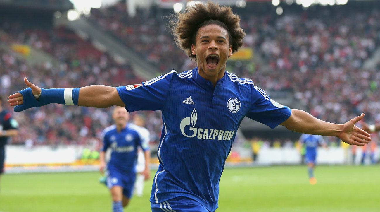 Image result for leroy sane man city schalke