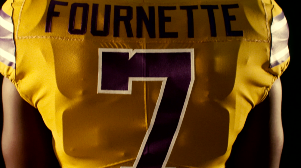 87a6f3e86 LSU to wear  Gridiron Gold  throwback jerseys