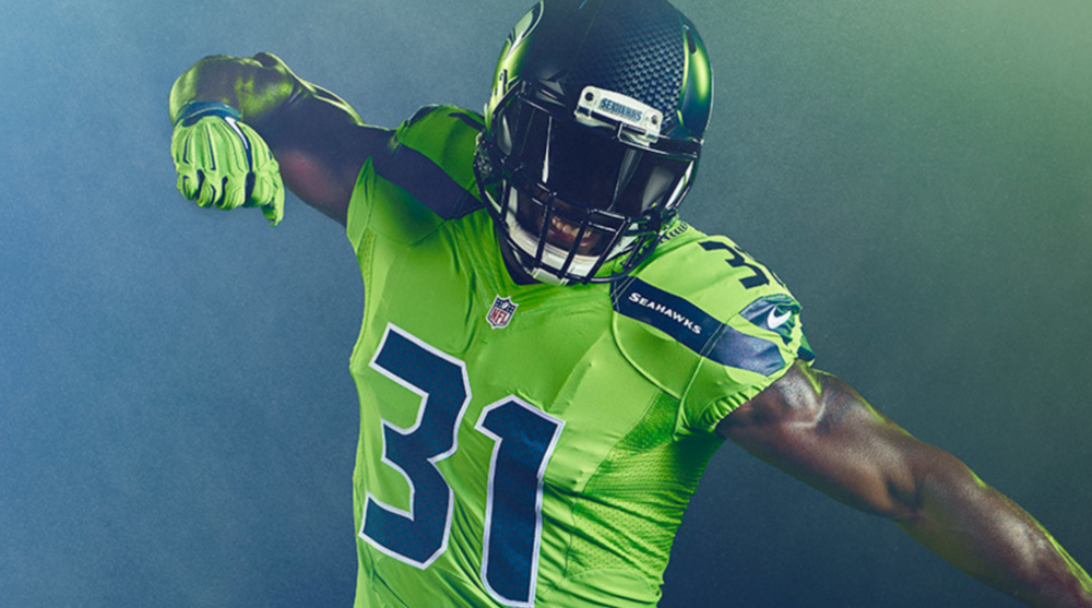 new styles 88d38 913f6 seahawks color rush jerseys 2016