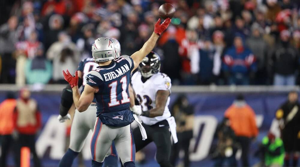 Julian Edelman New England Patriots Backup Quarterback Si Com