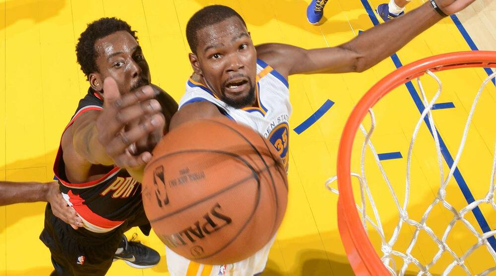 adc194295662 NBA Awards  Can Kevin Durant Win MVP With Warriors