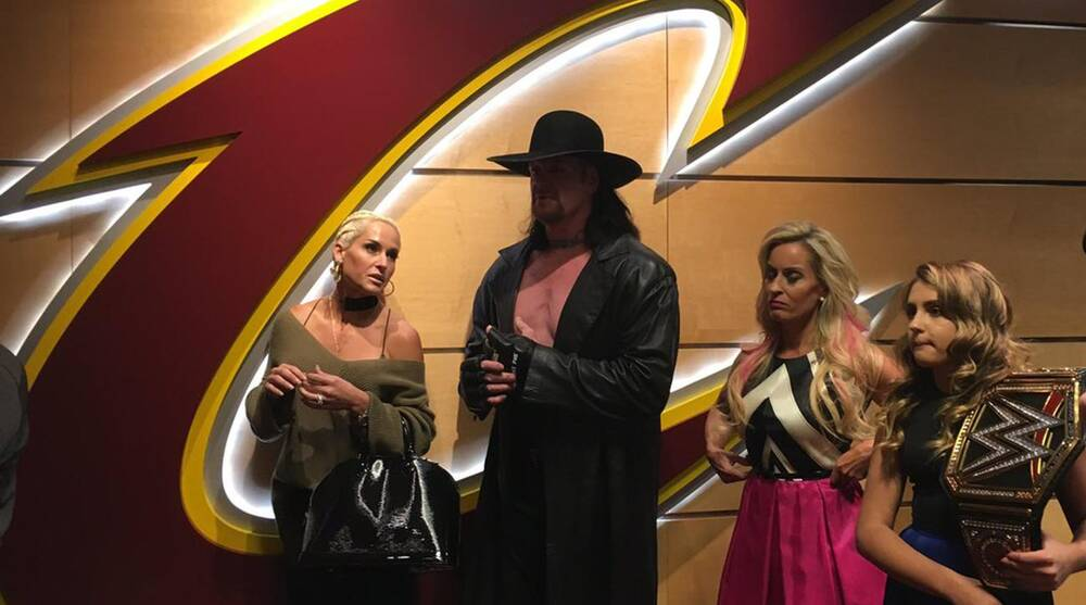 14d69ac4801f Here's why the Undertaker is at the Cavaliers game   SI.com