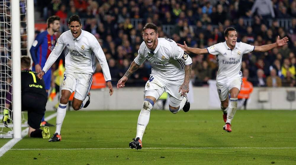 ebee9059194 El Clasico  Barcelona rues missed chances in draw vs Real Madrid ...