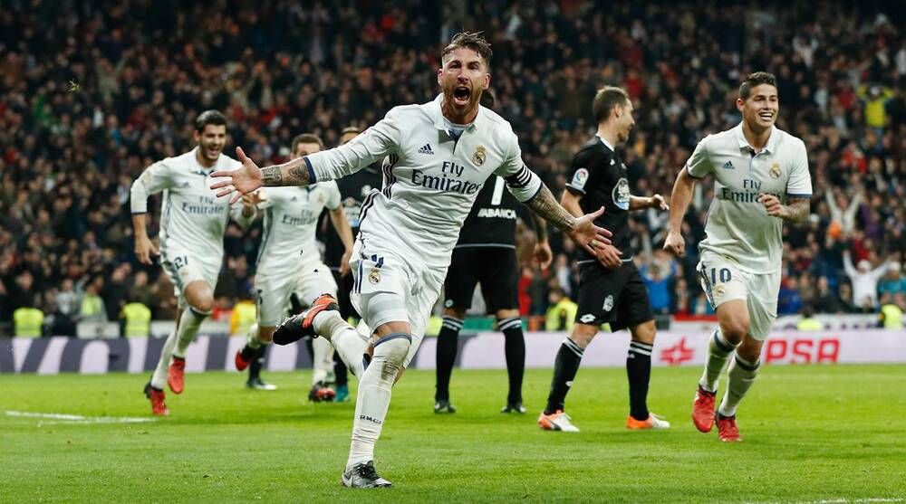 Sergio Ramos scores a late winner for Real Madrid 9626ba591