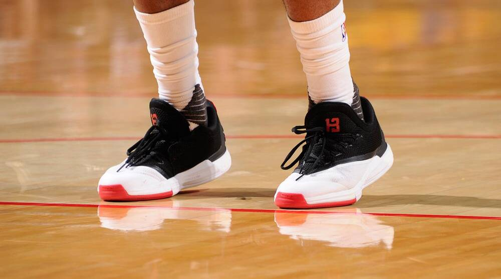 f71af62e87c1 How adidas used technology to promote Harden s shoes