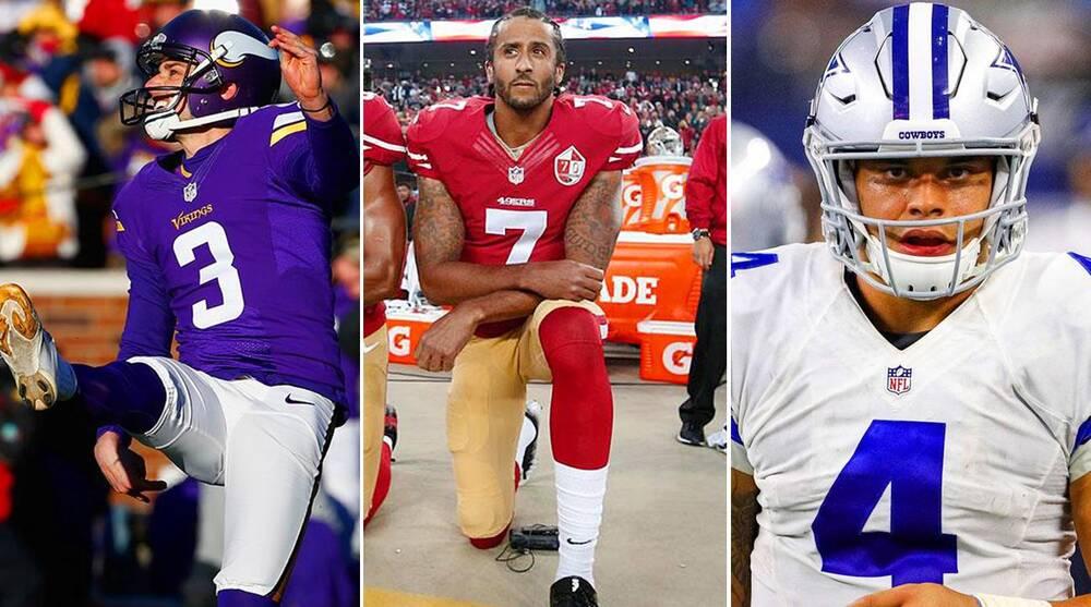 Top NFL moments of 2016  From Colin Kaepernick to Dak Prescott  2b57406e0