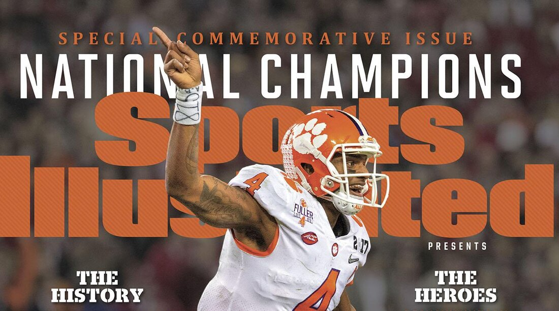 Clemson Tigers Sports Illustrated covers: Buy them here   SI.com