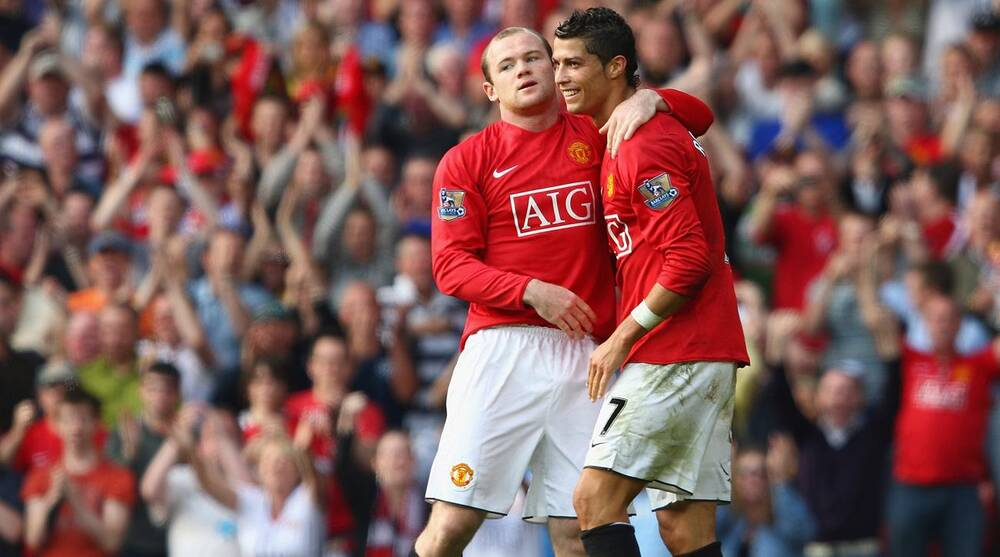 Cristiano Ronaldo and Wayne Rooney made for a lethal tandem at Manchester  United e4a7f6a63
