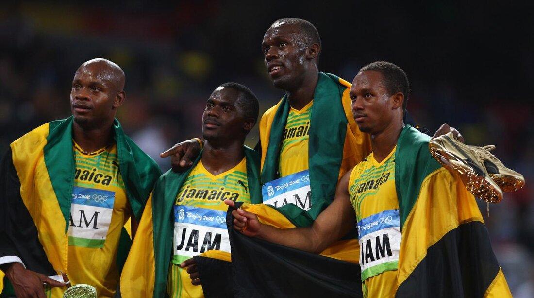 Usain Bolt Nesta Carters Doping Test Costs Sprinter Gold