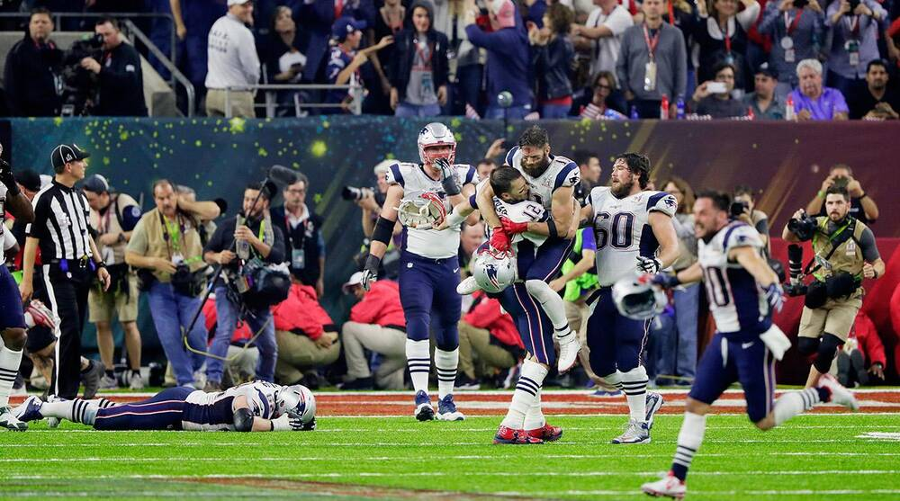 Athletes react to Patriots record Super Bowl comeback | SI com