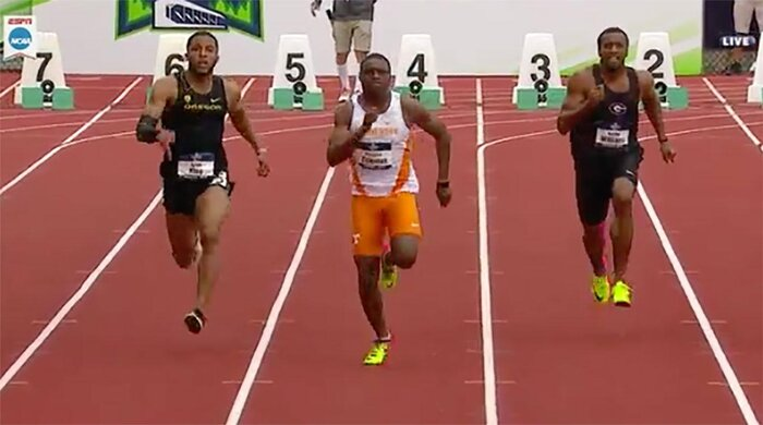 Christian Coleman is now the fourth fastest U.S. 100 meter sprinter of all-time.