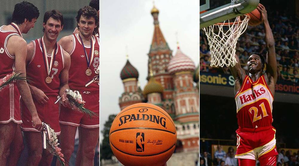 The NBA and Russia  Inside the Hawks  Historical 1988 Trip  7d90f47d7